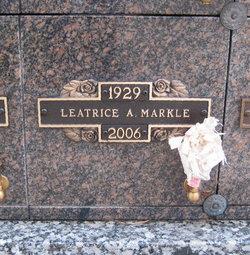 Leatrice A <I>Smith</I> Markle