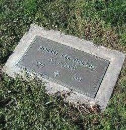 Pvt Robert Lee Cole, Jr