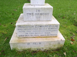 Malcolm Edward Ellis