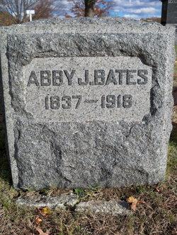 Abby Jane <I>Rice</I> Bates