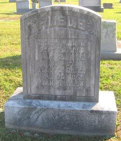 Mary C. <I>Greer</I> Ruble