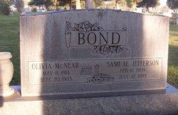 Olivia <I>McNear</I> Bond