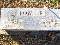 Hallie <I>Powers</I> Fowler