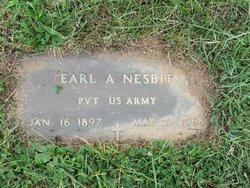 Earl A Nesbit