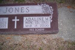 Adaline M <I>Schepp</I> Jones