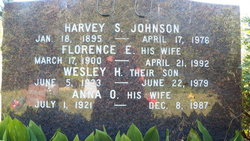 Florence E Johnson