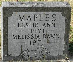 Melissia Dawn Maples