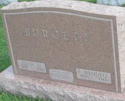 Infant Son Burgett