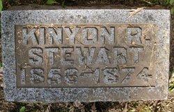 Kinyon R Stewart