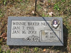 Winnie <I>Baker</I> Neff
