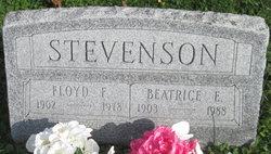 Floyd F Stevenson