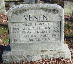Jennie <I>Silliman</I> Venen