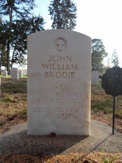 PFC John William Brodie