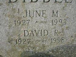 June M. Dibble
