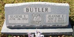 Jeannie E Butler