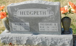 "Theodore Roosevelt ""Ted"" Hedgpeth"