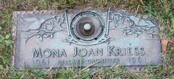 Mona Joan Kriess