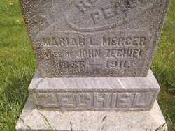 Mariah Louisa <I>Hiath</I> Mercer Zechiel