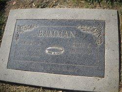 Henry A. Bamman