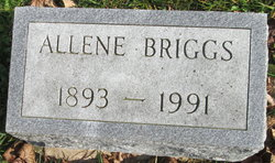 Allene <I>Mix</I> Briggs