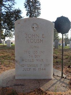 PFC John E Roush