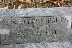 Ada Medora <I>Harris</I> Collier