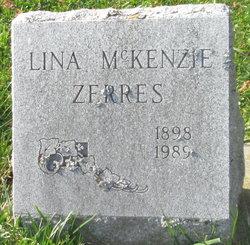 Lina <I>McKenzie</I> Zerres