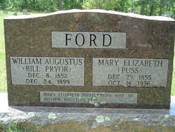 Mary Elizabeth <I>Montgomery</I> Ford
