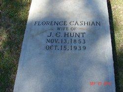Florence <I>Cashian</I> Hunt