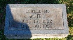 Lowell M White