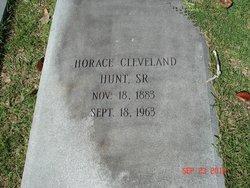 Horace Cleveland Hunt, Sr
