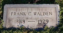 Frank C Walden