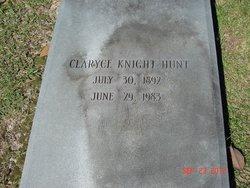 Claryce <I>Knight</I> Hunt