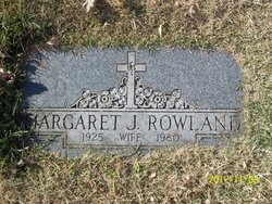 Margaret J Rowland