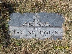 Pearl William Rowland