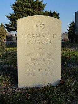 PFC Norman D De Jager