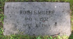 Ruth E Miller