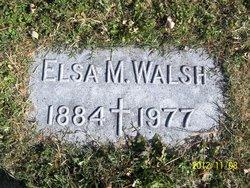 Elsa M Walsh
