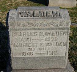 Harriett Ellen <I>Colegrove</I> Walden