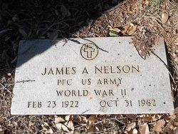PFC James A Nelson
