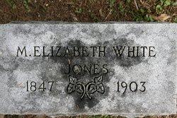 M. Elizabeth <I>White</I> Jones