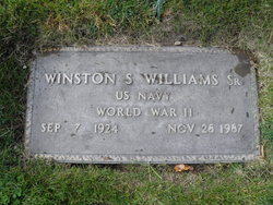 Winston Samuel Williams, Sr