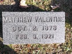 Matthew Ferguson Valentine