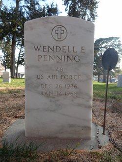 Wendell E Penning