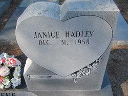 Janice <I>Hadley</I> Keene