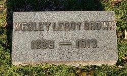 Wesley Leroy Brown
