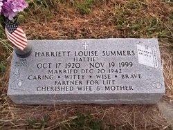 """Harriett Louise """"Hattie"""" <I>Stogsdill</I> Summers"""