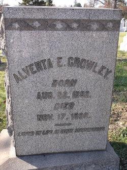 Alverta E. Crowley
