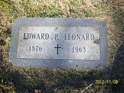 Edward P Leonard