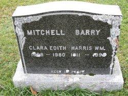 Clara Edith <I>Mitchell</I> Barry